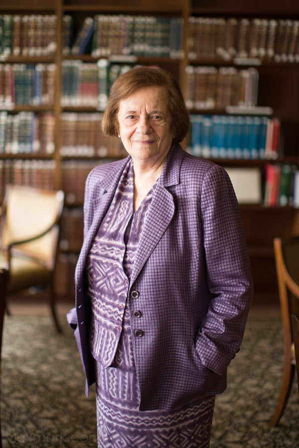 photo of bu professor tamar frankel