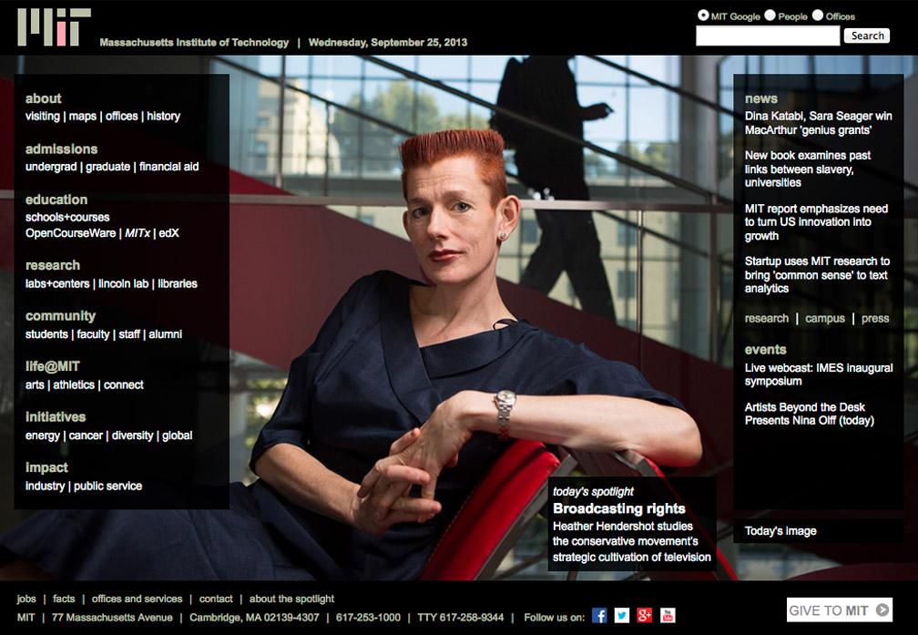 MIT Professor Heather Hendershot