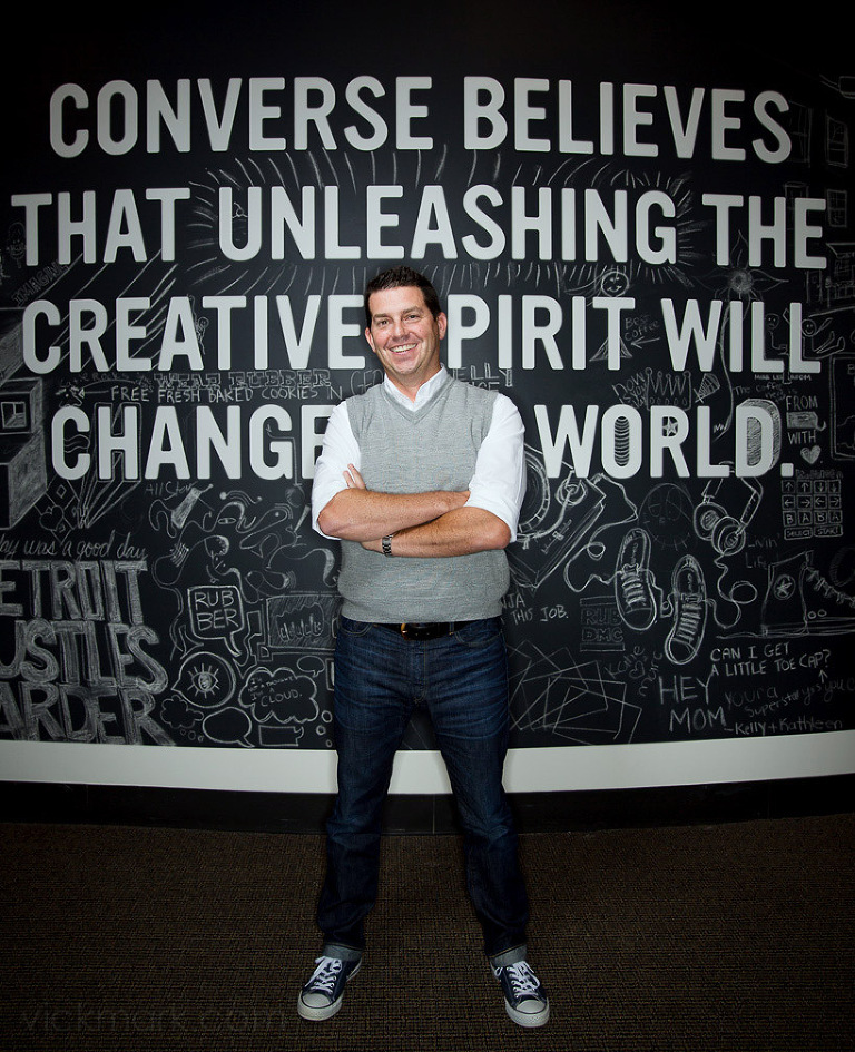 Jim Calhoun CEO of Converse